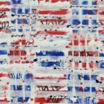 100, 19th ammendment abstract painting by michelle capizzi